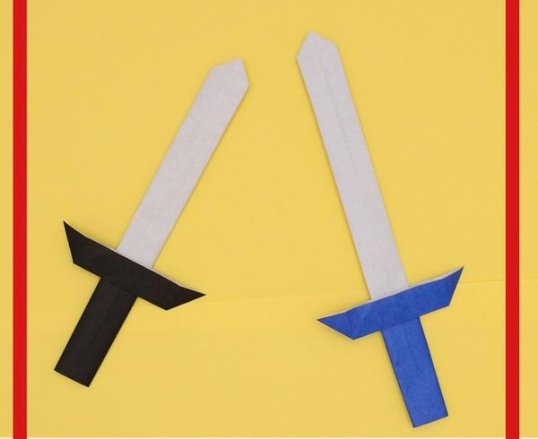 【動画】折り紙で作るかっこいい剣