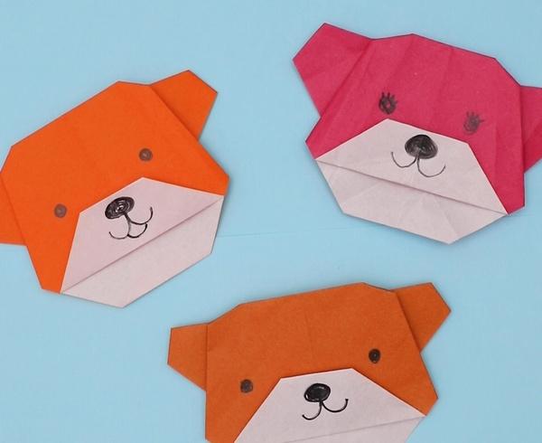 【動画】折り紙でくまを折ってみよう