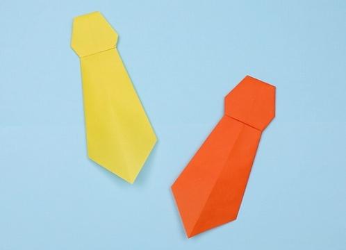 【動画】父の日にぴったりな折り紙ネクタイ