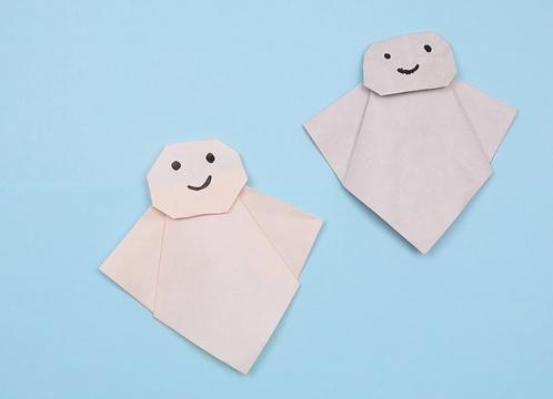 【動画】折り紙のてるてるぼうずで晴れますように