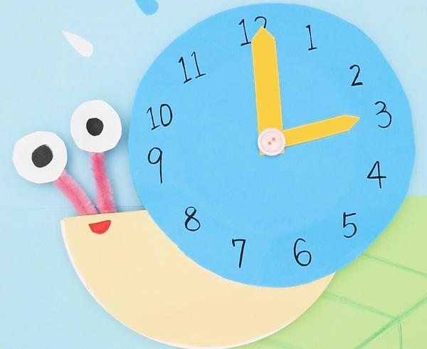 【動画】今なんじ?かたつむりの時計