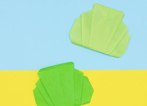 【動画】シャキシャキの折り紙キャベツ