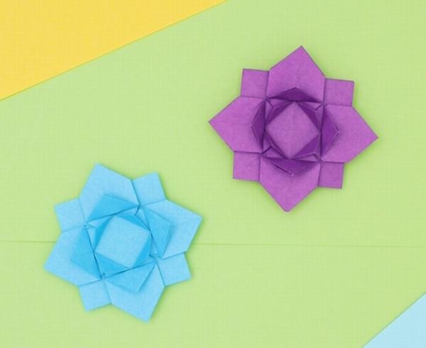 【動画】折り紙の花を咲かせよう