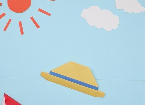 【動画】夏の暑さをしのぐ麦わら帽子の折り紙