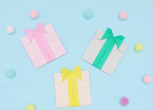 【動画】折り紙のプレゼントは使い道がいっぱい