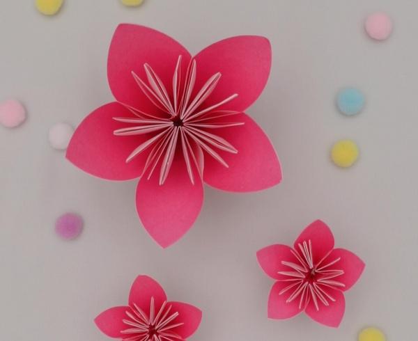 【動画】3月の花と花言葉は?折り紙ももの花
