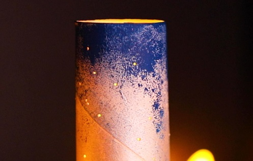 【動画】タンポで天の川ランプを作ろう