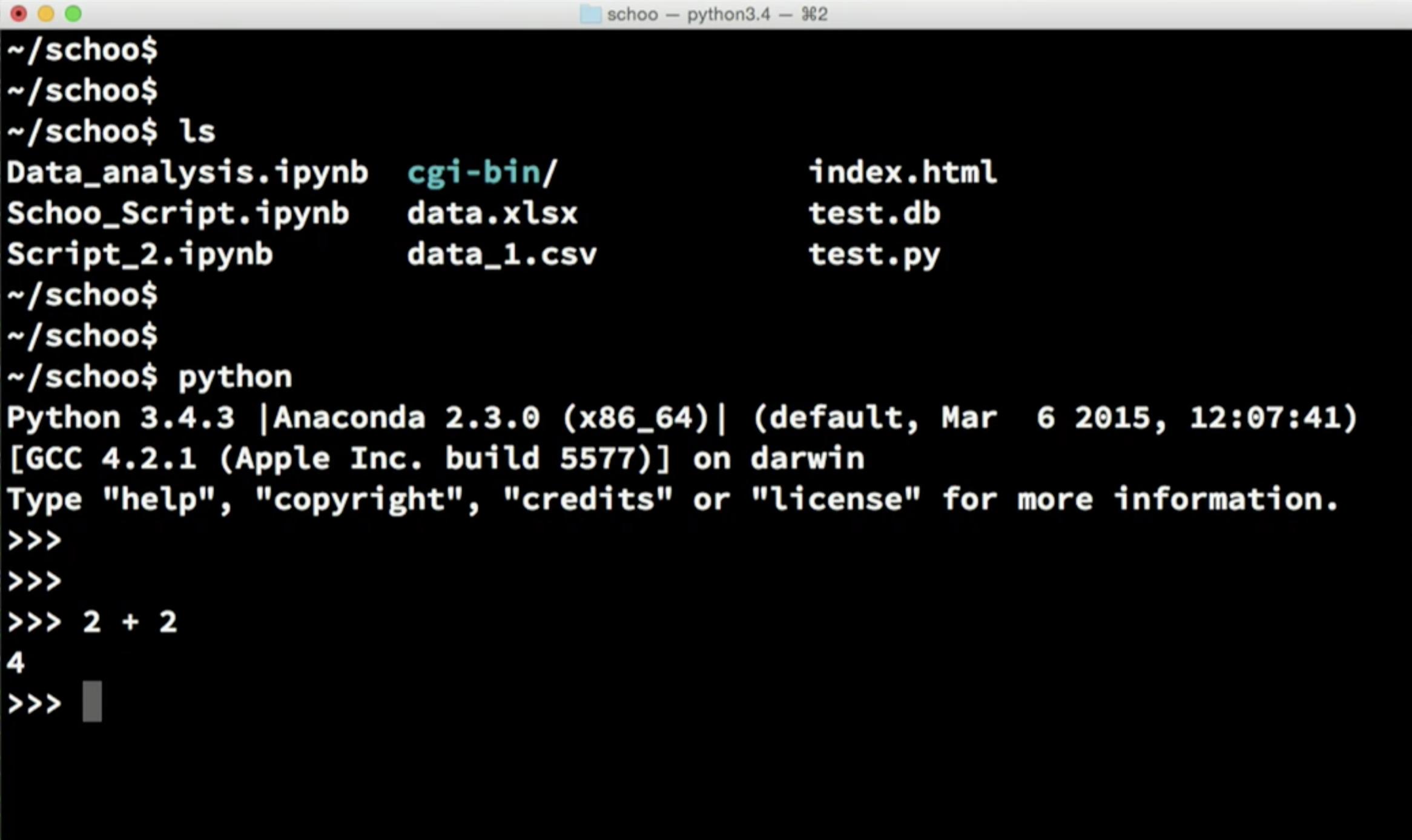 OSのシェルを利用したPythonの使い方
