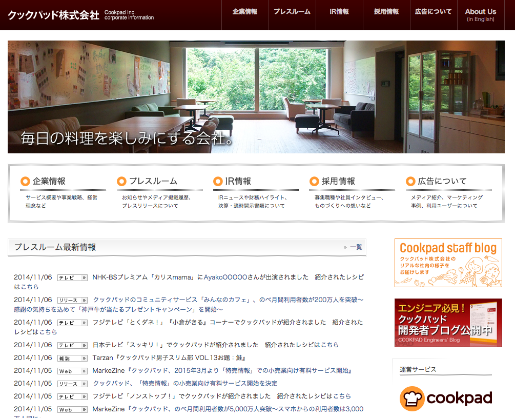 cookpad WordPress