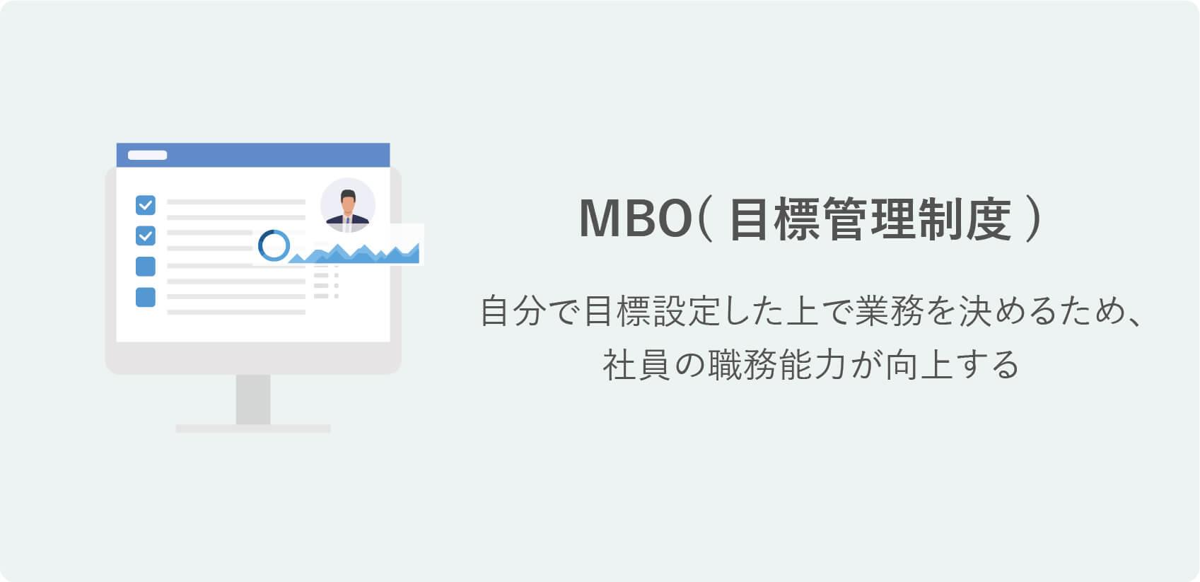 研修の種類|MBO(目標管理制度)