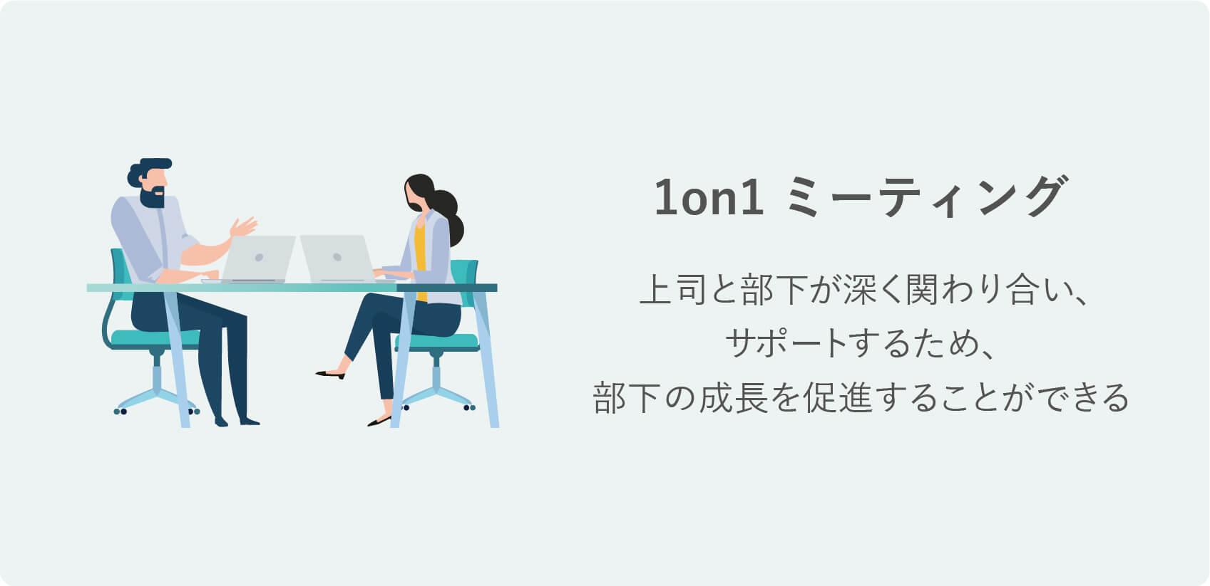 研修の種類|1on1ミーティング