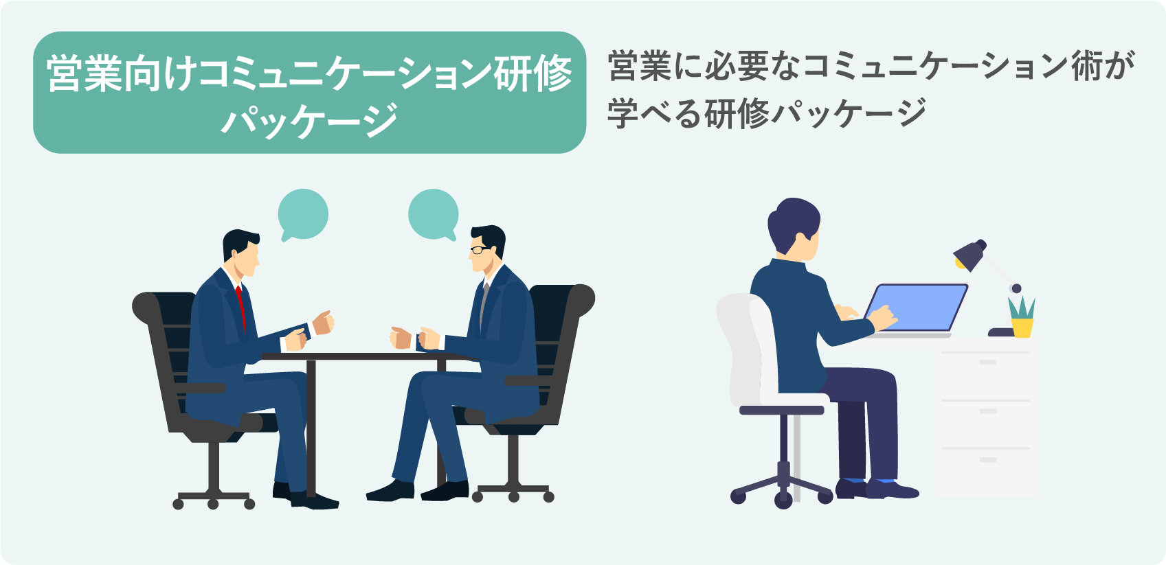 営業向けコミュニケーション研修パッケージ