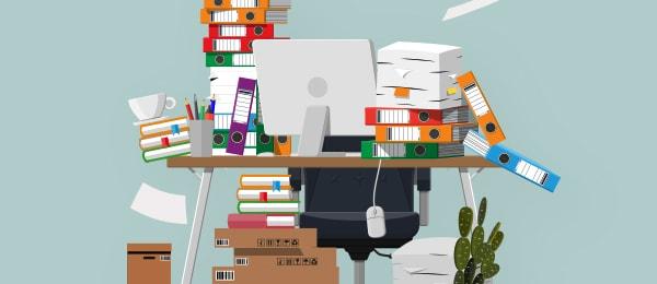 大掃除シーズンに向けて学ぶオフィスのかたづけ術 -先延ばししないかたづけ法-