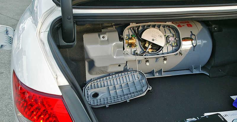 LPガス自動車(LPG車)のエンジン
