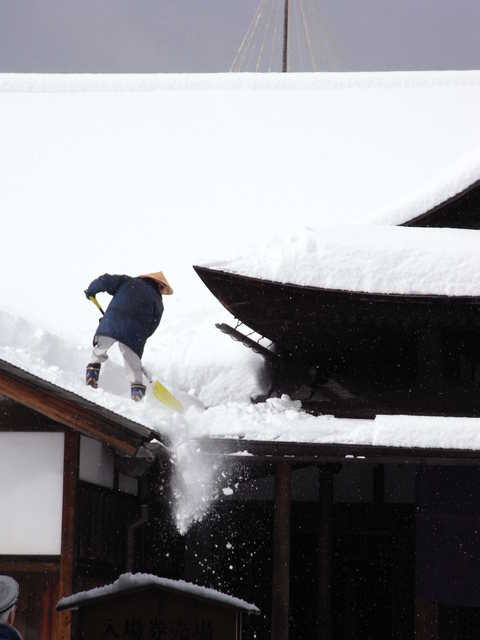 大雪の時に気をつけること