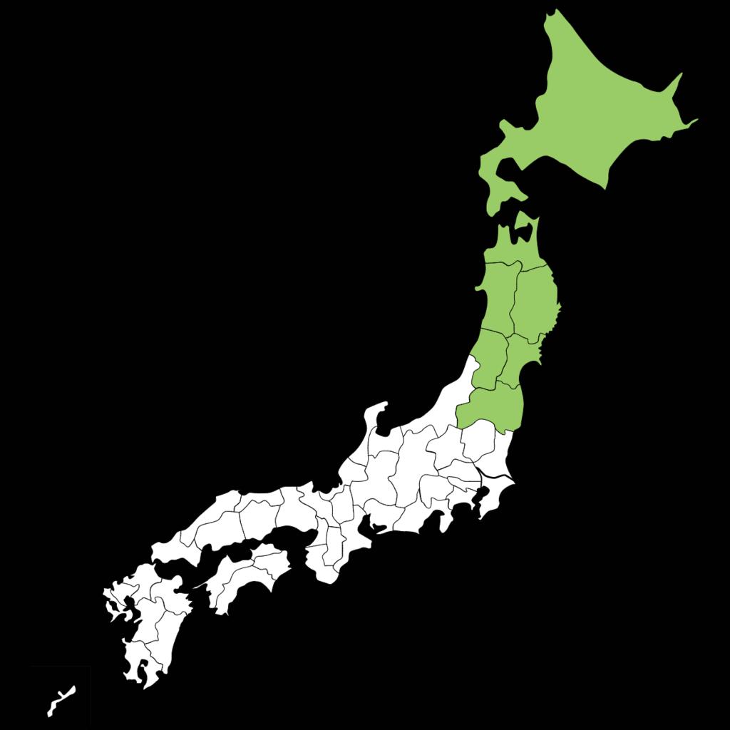 【北海道・東北地方】プロパンガス料金と傾向(平均ガス代)