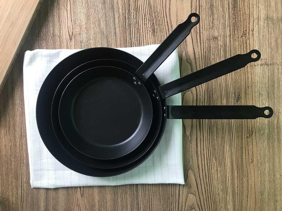 調理するごとにフライパンを洗うのはNG
