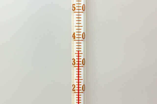 温度を少し下げる