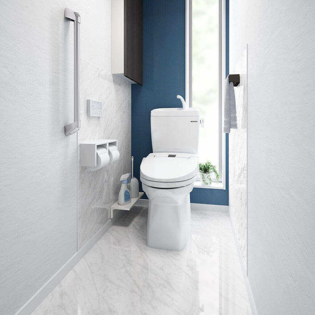 タカラスタンダードの「トイレ ティモニBシリーズ」