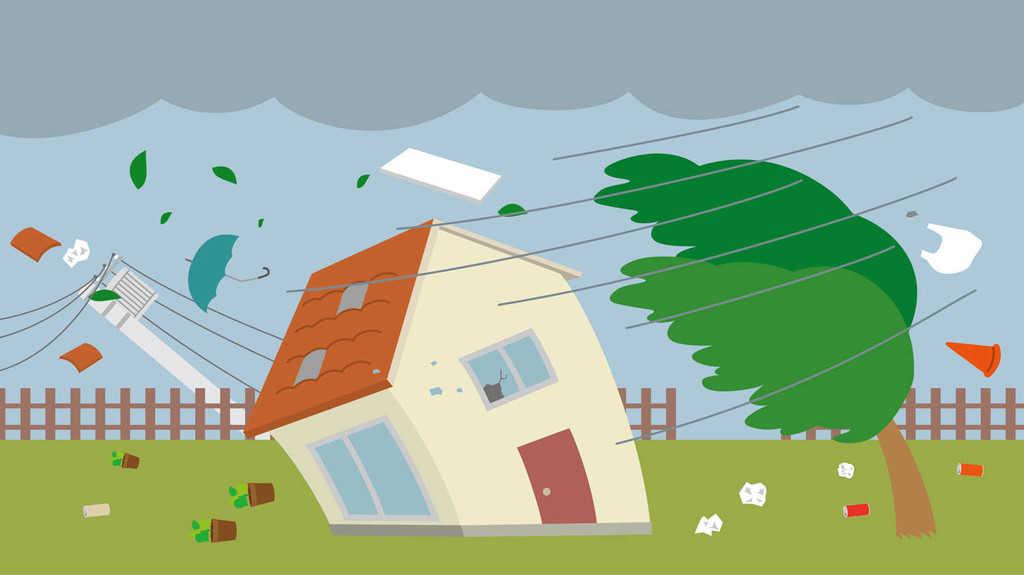 台風が来たときのプロパンガス(LPガス)の対処法
