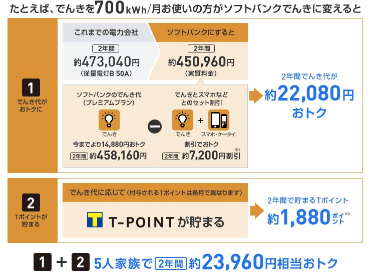 東京電力管内プレミアムプラン料金単価