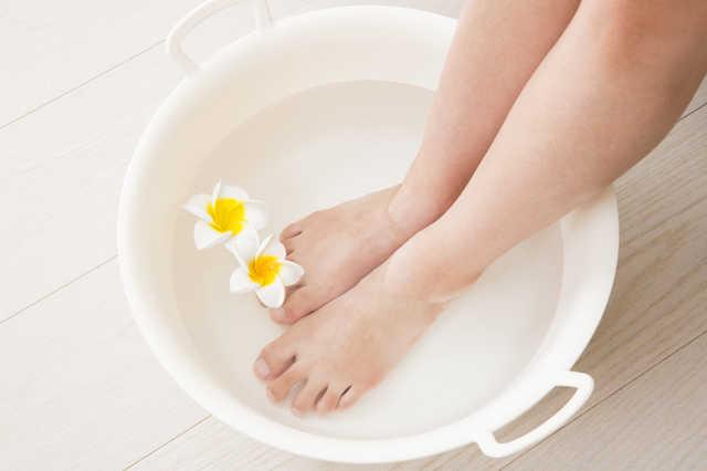 足湯やハンド浴でも効果絶大!
