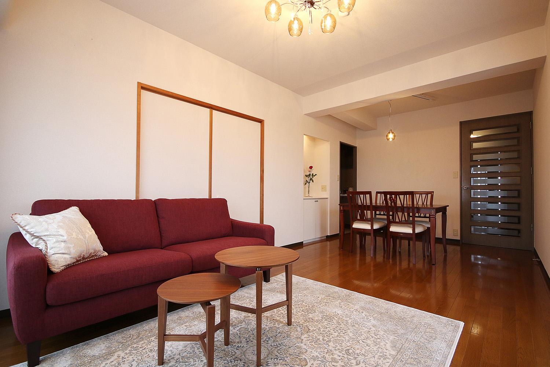 リビング(ソファ)のコーディネート実例 大塚家具 インテリアのはなし