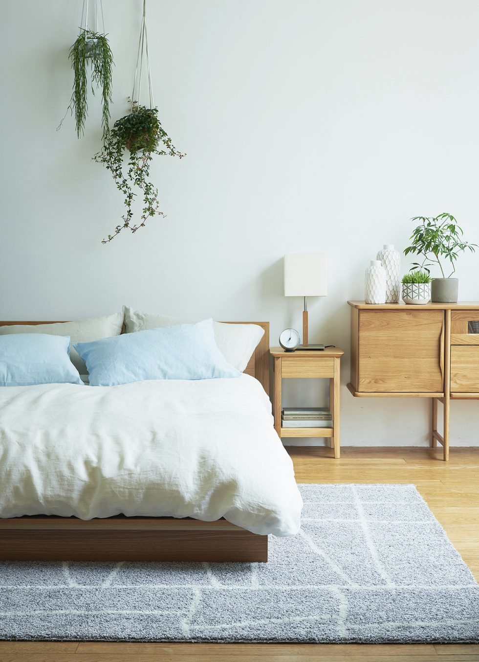 北欧スタイルベッド