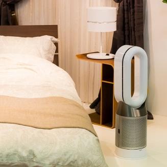 家具×家電コラボ展示_ベッドルーム