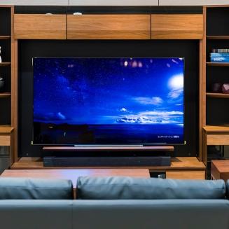 家具×家電コラボ展示_リビング