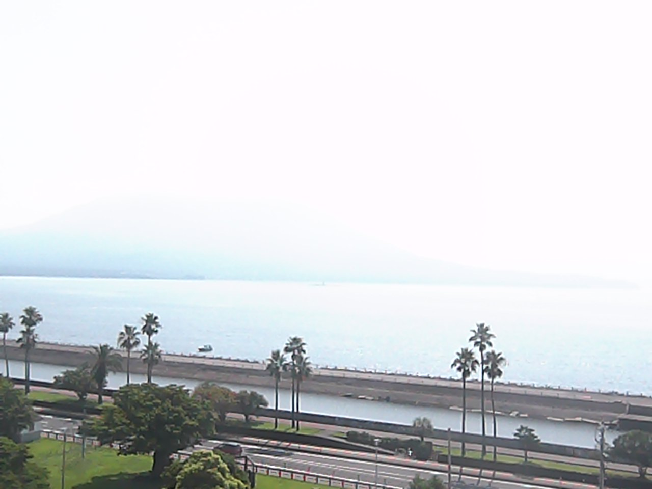 Sakurajima now