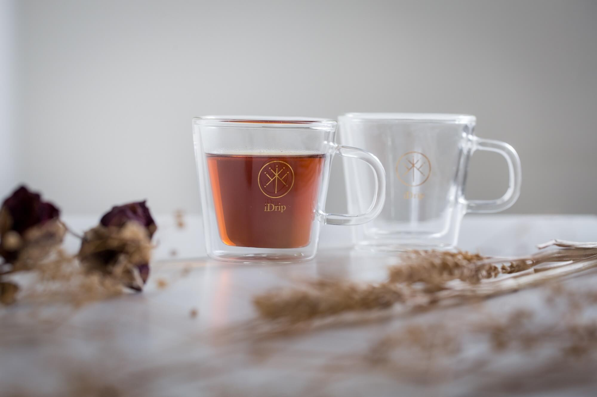 iDrip手工雙層晶瑩分享精品杯
