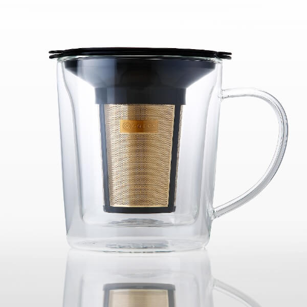 Cores 雙層玻璃沖泡杯
