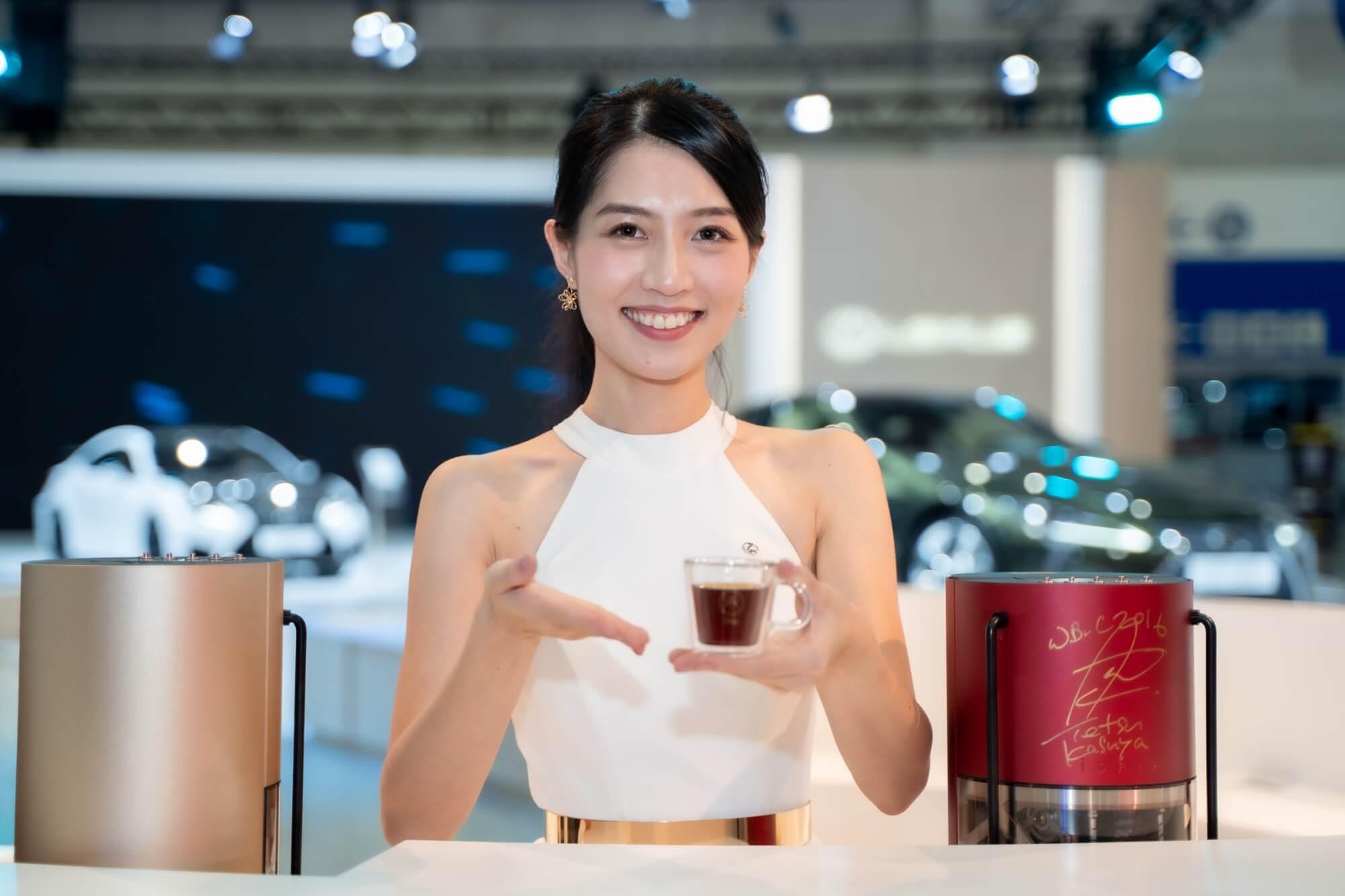 2020世界新車大展 LEXUS指名使用iDrip智能手沖咖啡機