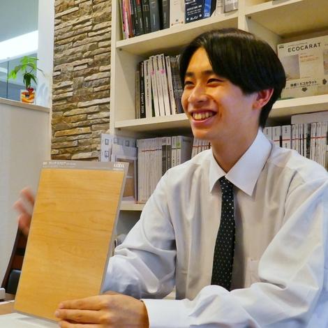 建築システム(狭小住宅専門店)【内田智輝】令和3年4月より社会人1年生。お客様のために一生懸命頑張ります!