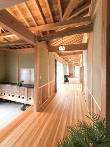 櫻 工務店【木の表情を生かして適材適所に使い分ける】