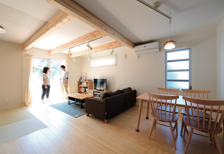 上質な素材の質感が生きる シンプルかつコンパクトな家