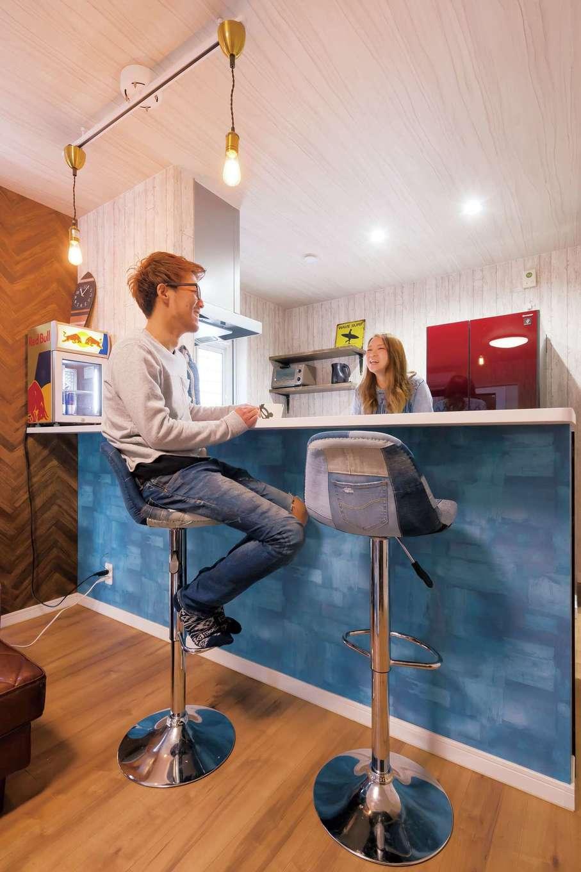 絆家  (きずなや)【1000万円台、趣味、インテリア】部屋を広く使うべく、食事はカウンターでとる