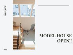 【完全予約制】MODEL HOUSE 見学相談会開催!