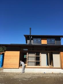 今週末ですよ!!大きな木製窓のある木の家 12/16(土)・17(日)【刻の家/島田市】完成現場見学会 を開催します!!
