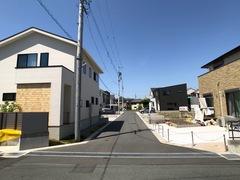 遠鉄ホーム【浜松市東区和田町】分譲地入口