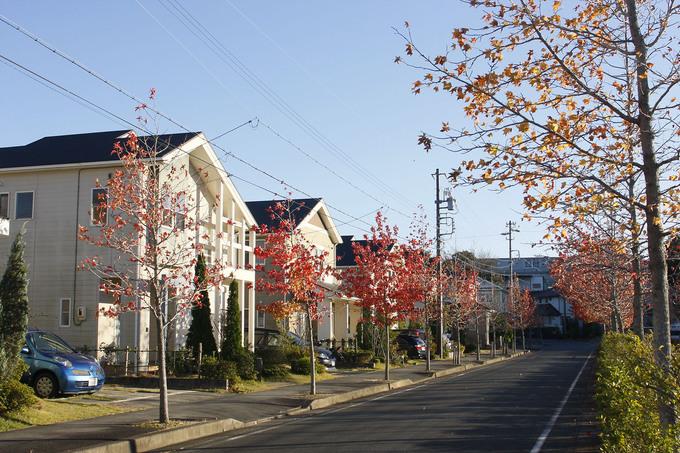 遠鉄ホーム【袋井市可睡の杜】秋にはまた違った雰囲気を楽しめます。