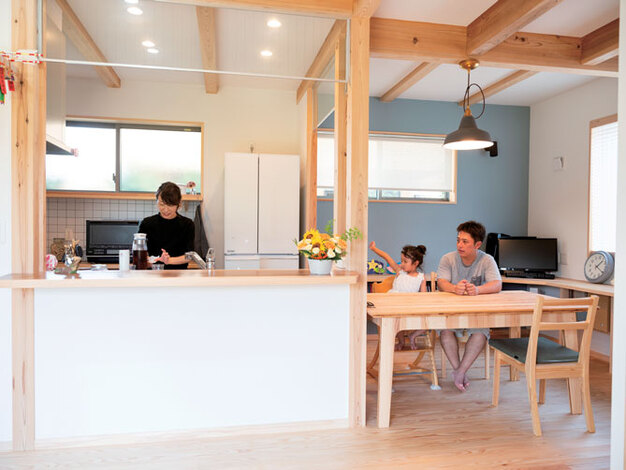 アクトホーム(木の住まいづくり研究所)【窓に映る景色から、未来の心地よさまで。4つの手法が生み出す「暮らしのデザイン」】