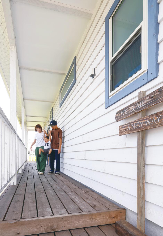 CLASSICA HOME/クラシカホーム【デザイン住宅、自然素材、インテリア】いかにもアメリカンハウスな外観だ