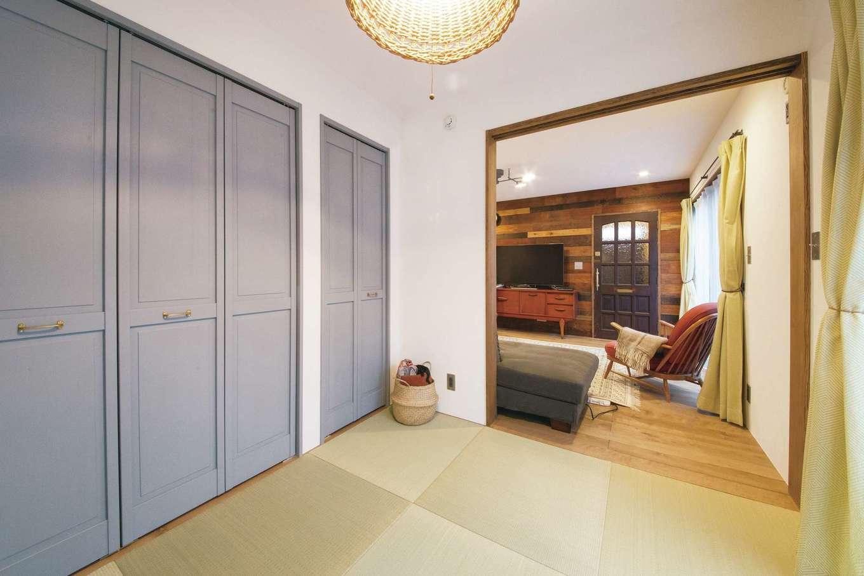 CLASSICA HOME/クラシカホーム【デザイン住宅、自然素材、インテリア】LDK脇の畳スペース