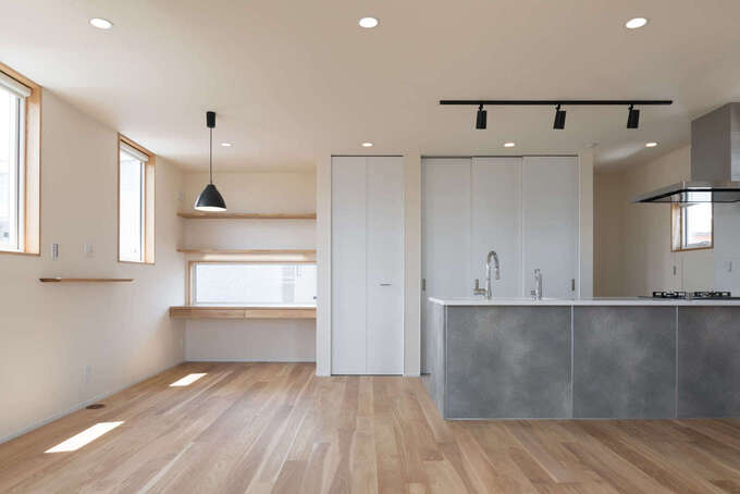 tact design firm【少ないエネルギーで、夏も冬も快適な居住環境を実現する高い住宅性能】