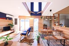 【予約受付中】 地中熱利用のコバルトブルーが映える北欧スタイルの家!12月15日(土)16日(日)OPEN HOUSE 開催