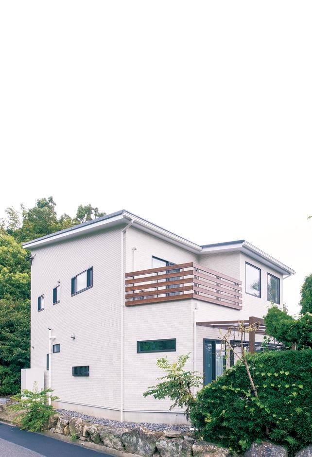 未来創建【デザイン住宅、輸入住宅、間取り】シンプルながら美しい外観は『未来創建』の得意とするところ