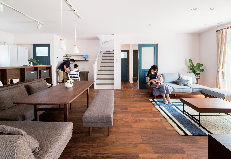 コンパクトな空間に充実の機能! 住宅のプロがたどり着いた家