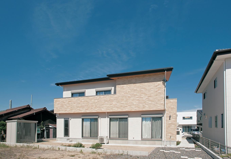 未来創建【デザイン住宅、輸入住宅、省エネ】意匠性のある外観は『未来創建』の得意とするところ